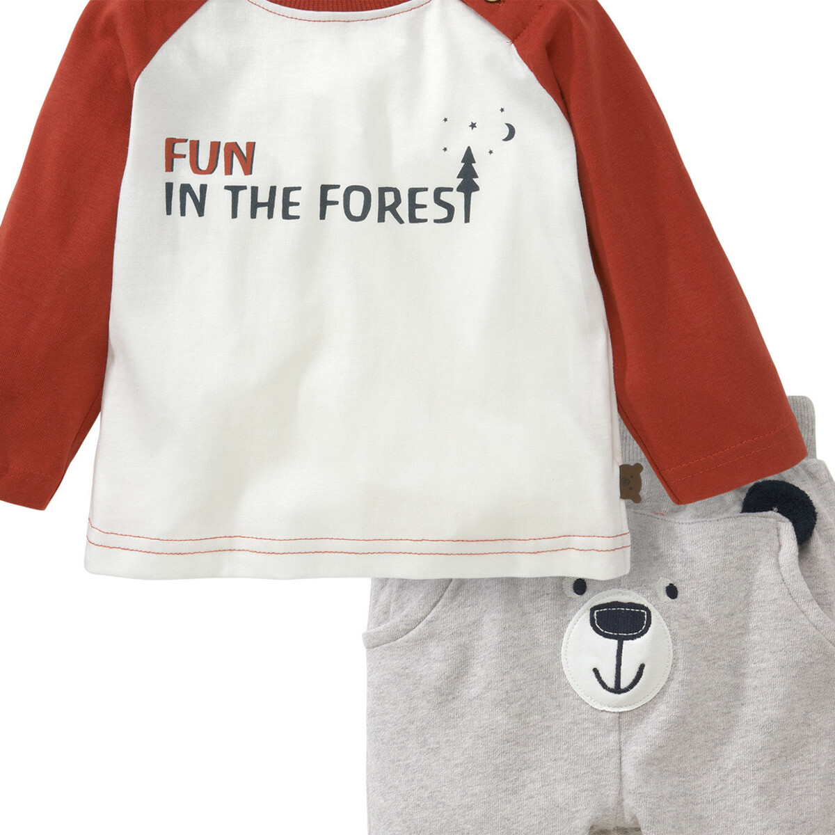 Bild 2 von Baby Langarmshirt und Jogginghose im Set