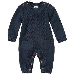 Newborn Strick-Overall mit zwei Taschen