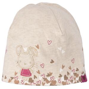 Baby Mütze mit Hasen-Motiv