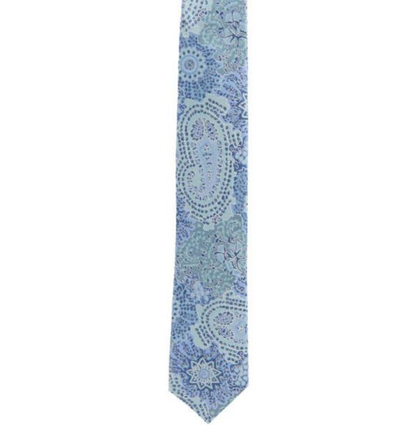 Prince BOWTIE             Krawatte, Paisley-Muster, reine Seide