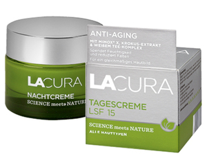 """LACURA Gesichtspflege """"SCIENCE meets NATURE"""""""
