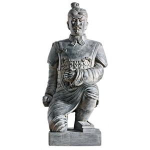 casaNOVA Deko Figur KRIEGER knieend 57 cm Materialmix