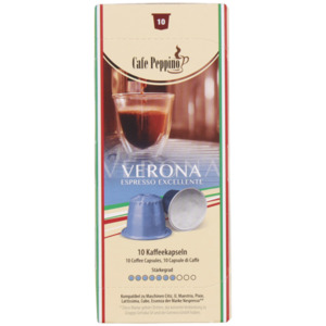 Café Peppino Kaffeekapseln Verona