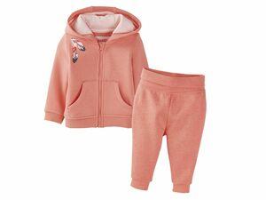 LUPILU® Anzug Baby Mädchen Jogginganzug/Sweatanzug mit/ohne Kapuze
