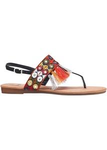 Zehensteg Sandale