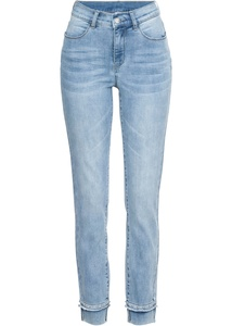 Stretch 7/8-Jeans mit Nieten