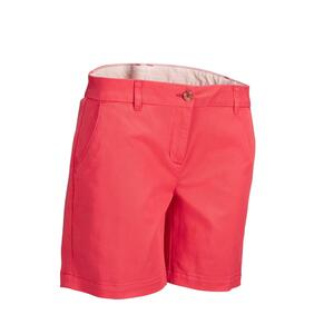Golf Bermuda Shorts Damen rosarot
