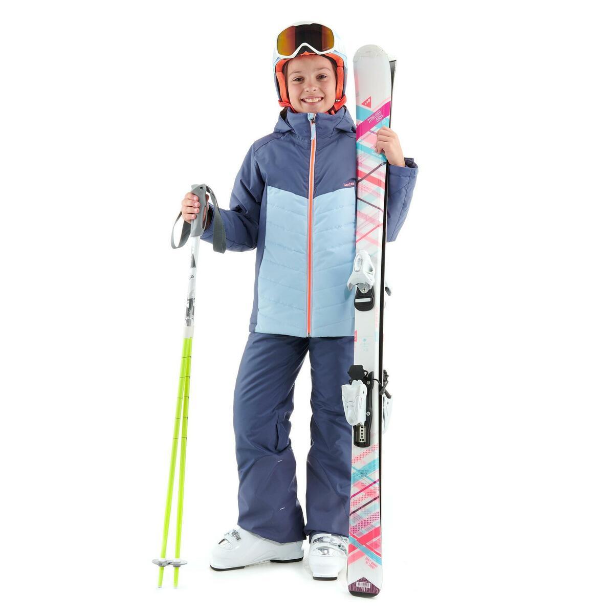 Bild 2 von Skijacke 300 Kinder blau
