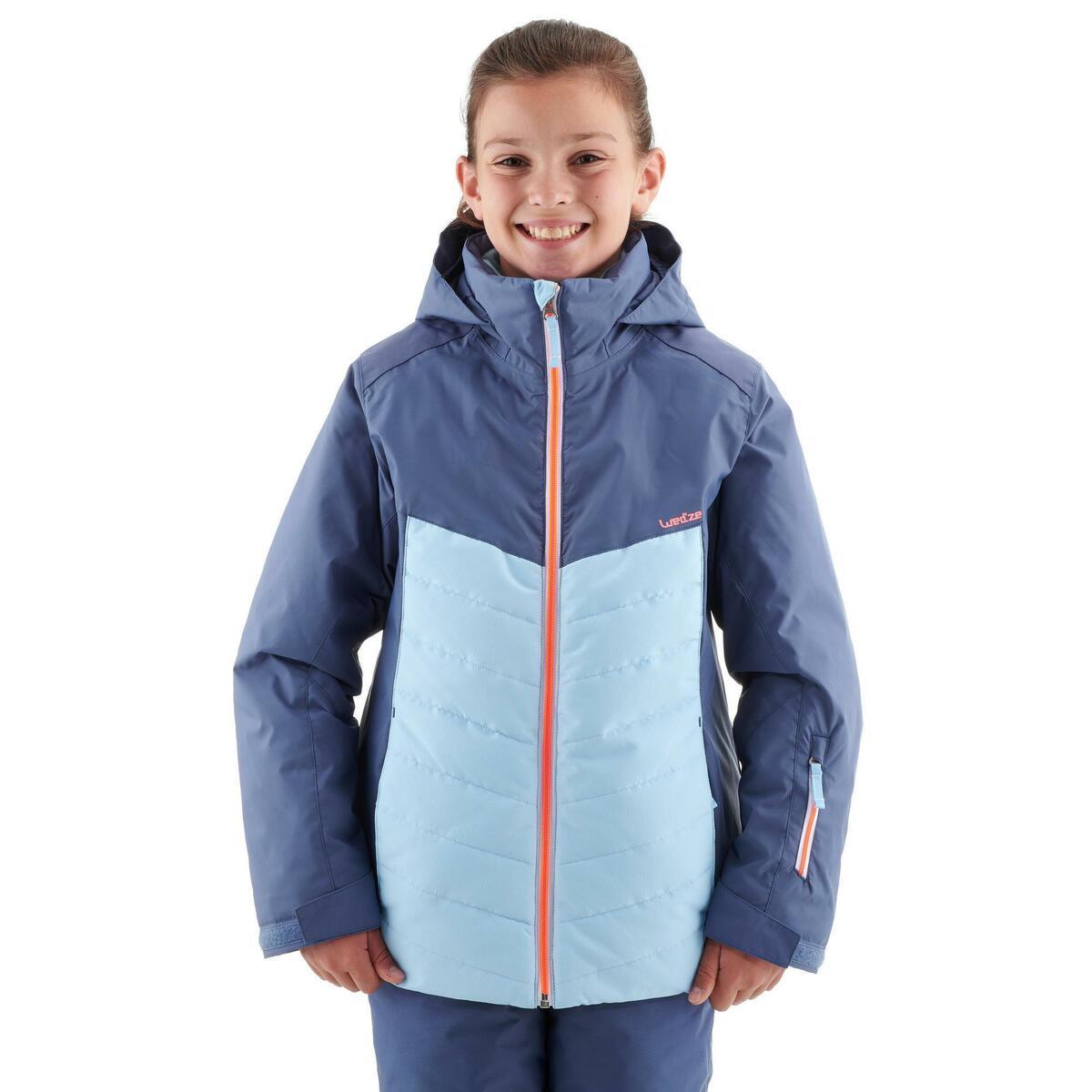 Bild 3 von Skijacke 300 Kinder blau