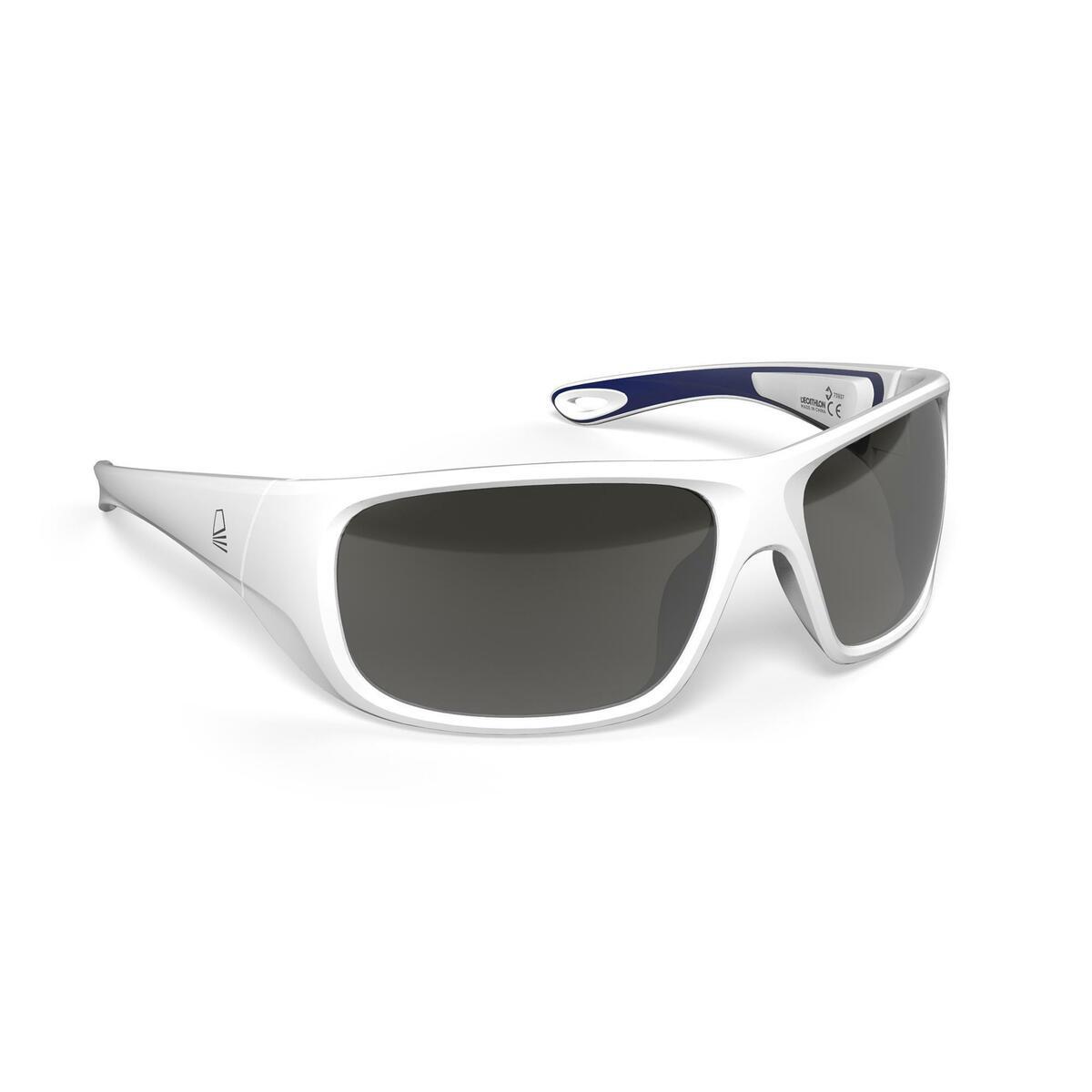 Bild 1 von Sonnenbrille Segeln 500 polarisierend Erwachsene Kat.3 weiß