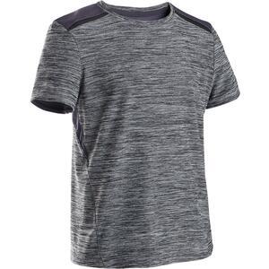 T-Shirt atmungsaktiv S500 Gym Kinder grau
