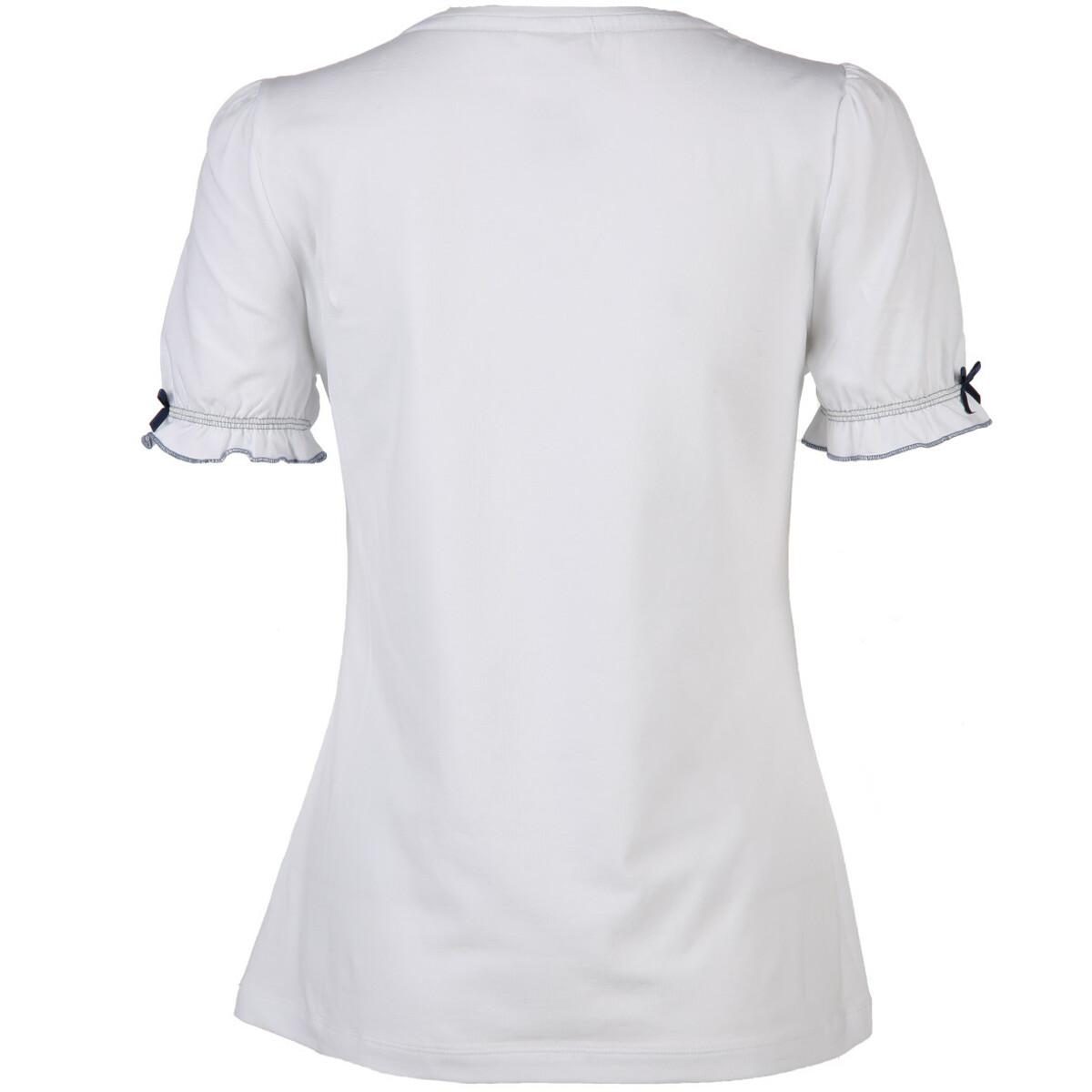 Bild 2 von Damen Trachtenshirt mit Print und Strass