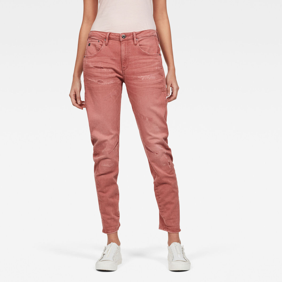 Bild 1 von Arc 3D Low Boyfriend Earthtrace Restored Colored Jeans