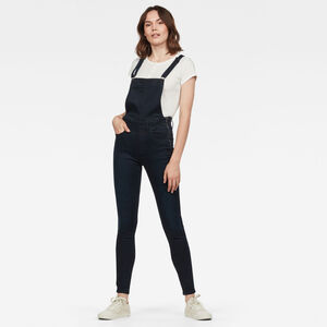 Lynn High Waist Skinny Overall