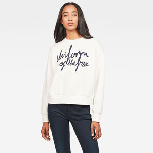 Graphic 24 Loose Sweatshirt