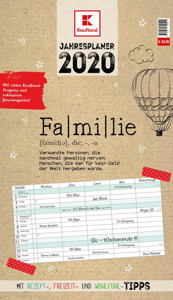 Familienkalender »2020«