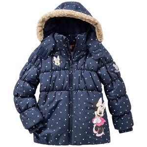 Minnie Maus Winterjacke mit Kapuze