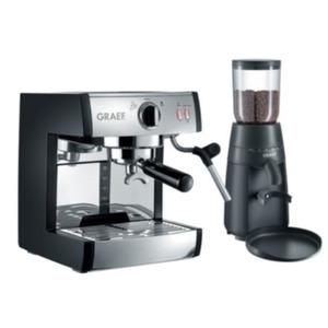 Graef CM 702 Siebträger-Espressomaschine pivalla mit Kaffeemühle