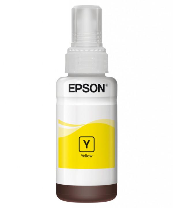 Epson 664 EcoTank Ink Nachfülltinte, Gelb
