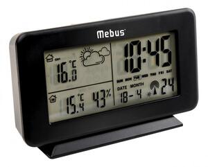 Mebus Funk-Wetterstation 40689, schwarz