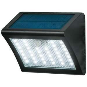 IDEENWELT LED-Solar-Wandleuchte