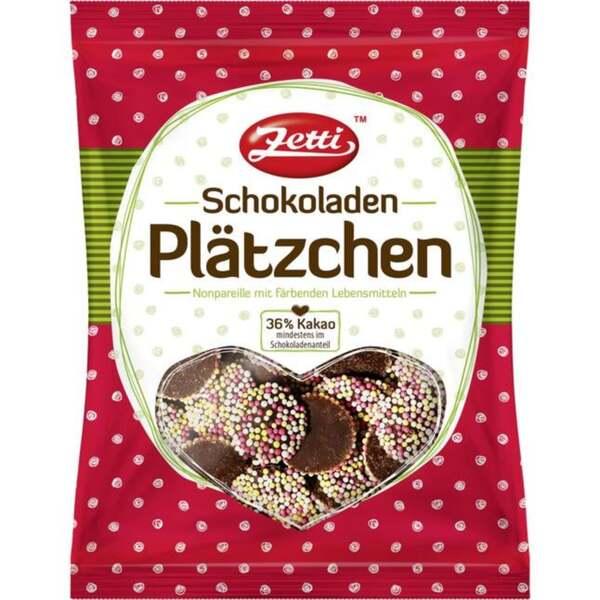 Zetti Schokoladenplätzchen 0.66 EUR/100 g