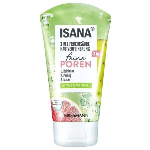 ISANA 3in1 Fruchtsäure Hautverfeinerung feine Poren 1.33 EUR/100 ml