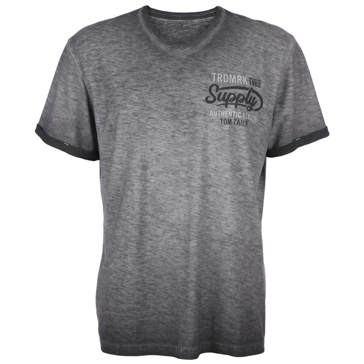 Bild 1 von Herren T-Shirt in melierter Optik