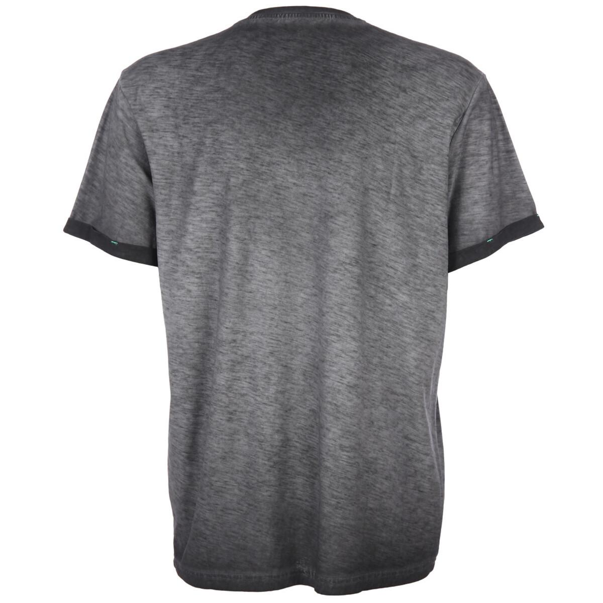 Bild 2 von Herren T-Shirt in melierter Optik