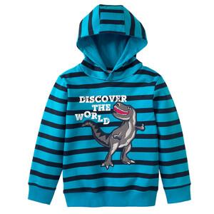 Jungen Sweatshirt mit Dino-Motiv