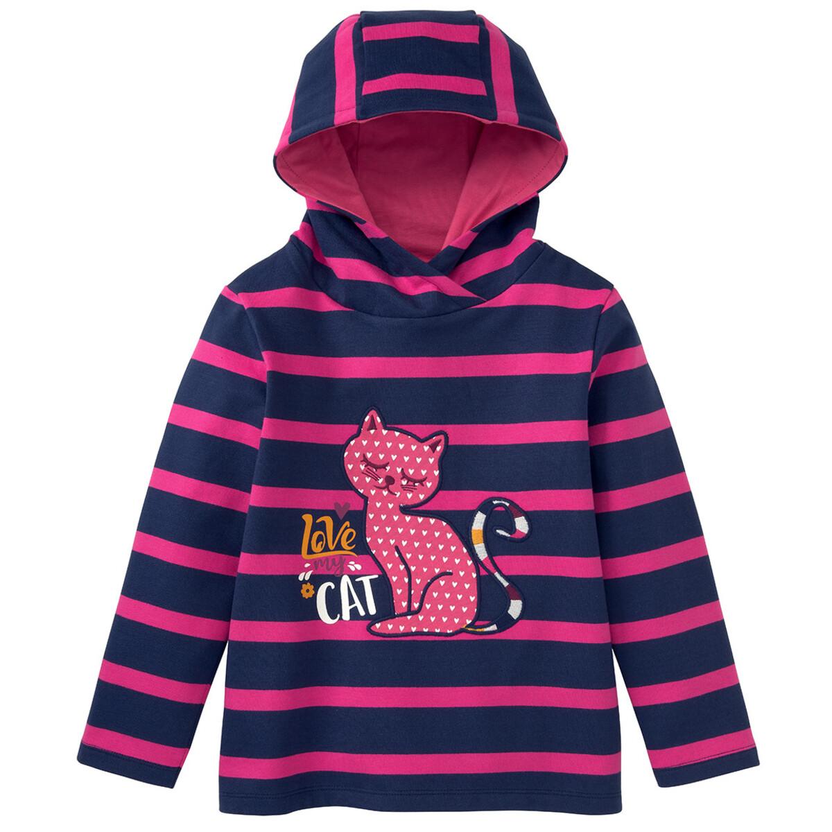 Bild 1 von Mädchen Sweatshirt mit Katzen-Motiv