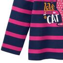 Bild 3 von Mädchen Sweatshirt mit Katzen-Motiv