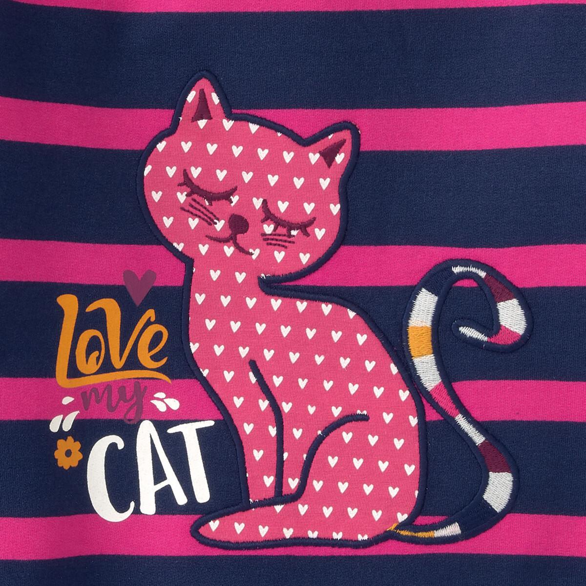 Bild 4 von Mädchen Sweatshirt mit Katzen-Motiv