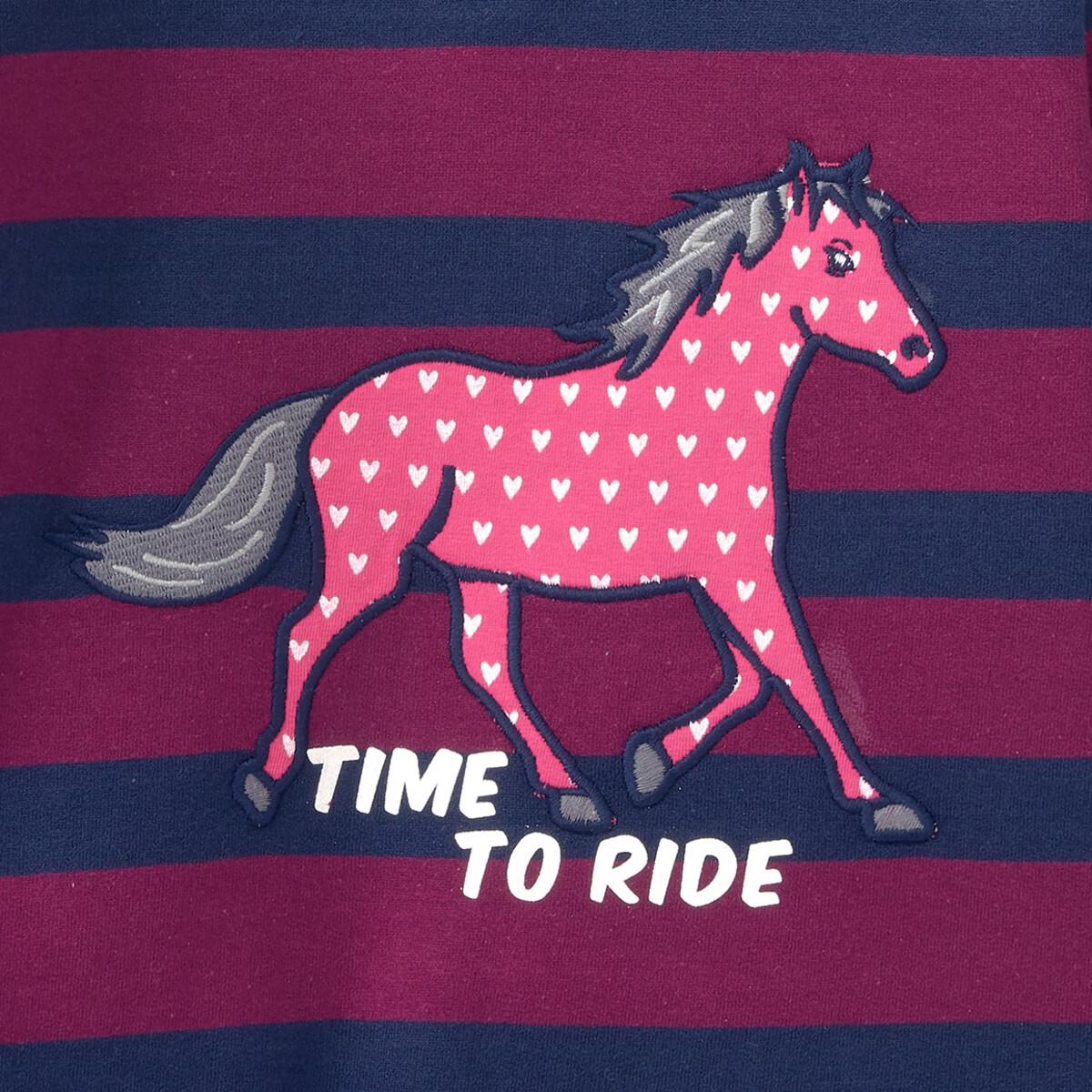 Bild 4 von Mädchen Sweatshirt mit Pferde-Motiv