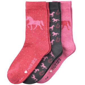 3 Paar Mädchen Socken mit Modal