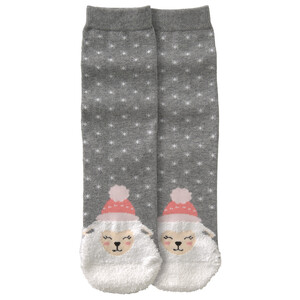 1 Paar Damen Socken mit Fun-Motiv