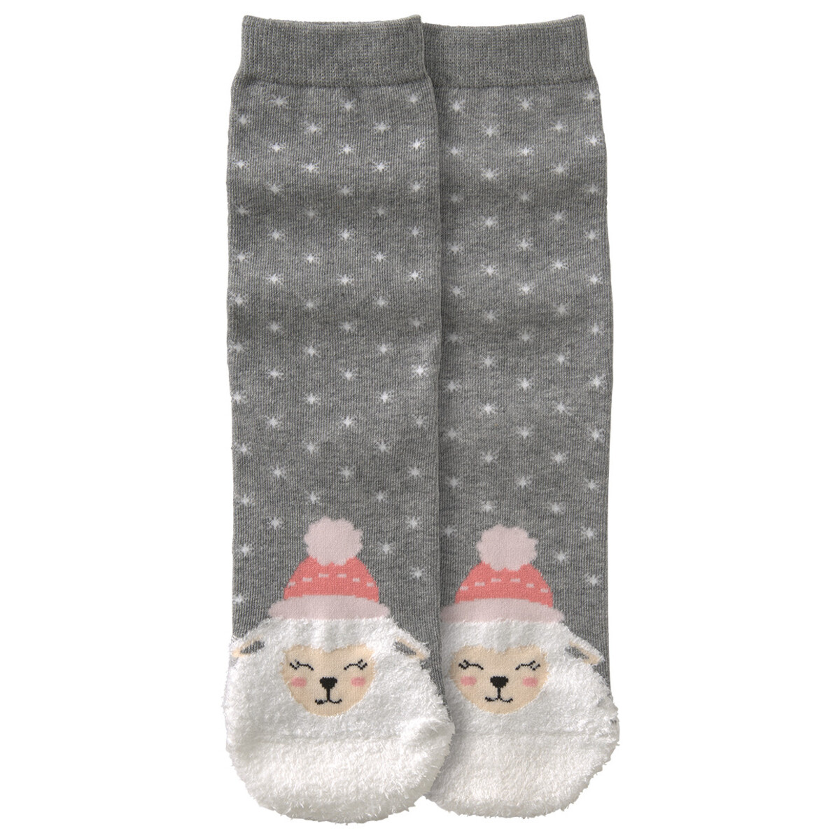 Bild 1 von 1 Paar Damen Socken mit Fun-Motiv