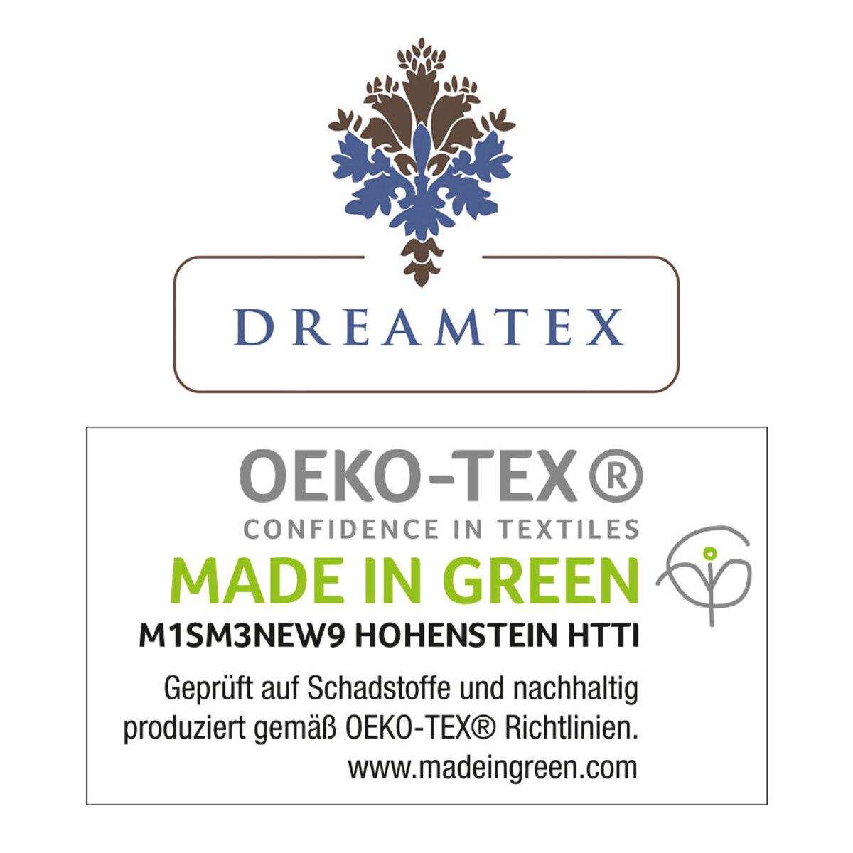 Bild 2 von Dreamtex Nicki-Spannbetttuch 140-150x200cm, hellgrau