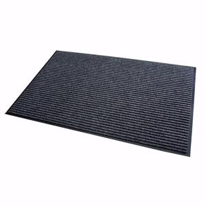 acerto® Schmutzfangmatte grau 40x60cm