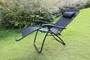 Bild 2 von Solax-Sunshine Camping Relaxstuhl, schwarz