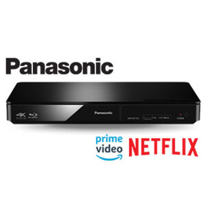 3D-Blu-ray-Player DMP-BDT 184 • Upscaling-Funktion • Dolby Digital Plus, Dolby True HD, DTS HD • HDMI-/USB-/Ethernet-Anschluss