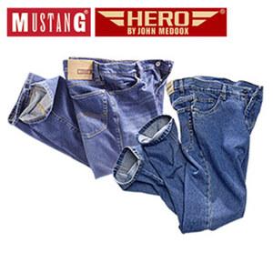 Herren-Jeans Mustang oder Hero by John Medoox • versch. Modelle, Waschungen und Größen, ab
