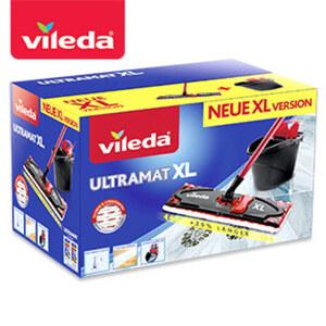 """Komplett-Set """"Ultramat XL"""" - bestehend aus """"UltraMat""""-XL-Wischer und Eimer mit Powerpresse"""