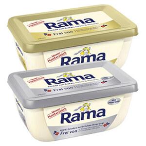 Rama Unser Meisterstück gesalzen oder ungesalzen, jede 350-g-Packung