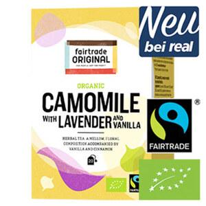 Fairtrade Organic Tea Früchte oder Käuter versch. Sorten, jede 35-g-Packung