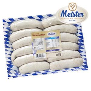 Meister Münchner Weißwurst jede 800-g-SB-Packung