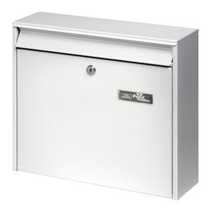"""Burg-Wächter Briefkasten """"Mail 5877"""" weiß 36,2 x 32,2 x 10 cm"""