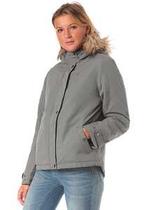 Vila Vitrust Short - Jacke für Damen - Grau