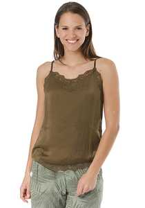 Vila Vicava Lace Singlet - Top für Damen - Grün