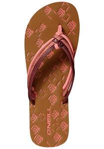 O´Neill 3 Strap Ditsy - Sandalen für Damen - Rot